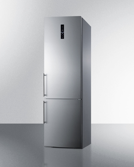 Summit Made in Europe with stainless steel doors and an ENERGY STAR certified performance
