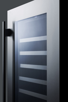 Model: CL18WCCSS | Seamless Stainless Steel Door Trim Brings True Elegance  Under The Counter