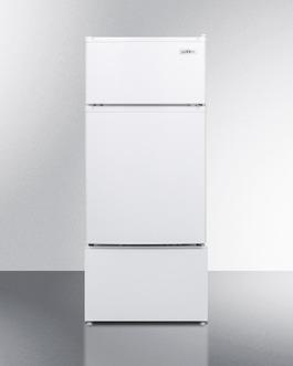 "Model: CP351W   Summit 19"" Wide Refrigerator-Freezer"