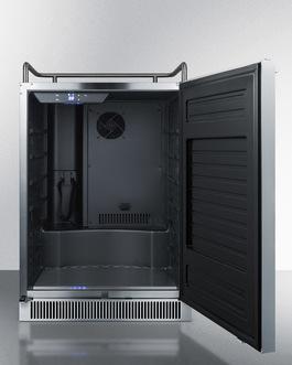 "Model: SBC677BINK | Summit 24"" Wide Built-In Kegerator"