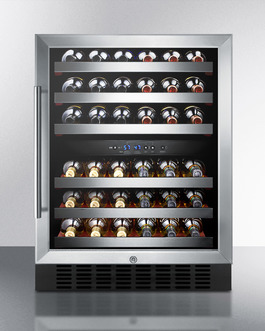 "Model: SWC530BLBIST | Summit 24"" Wide Built-In Wine Cellar"