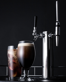 Model: SBC635M7CMTWIN | Summit Combination tap kit lets you serve both nitro-infused & flat iced coffee