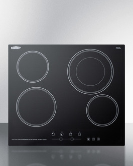 "Summit Touch controls & an extra large 8"" burner to accommodate large cookware"
