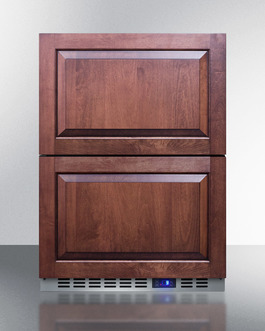 Model: FF642D | Summit Stainless steel drawers with innovative dividers
