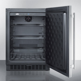 Model: FF64BSS | Summit Pair with our matching frost-free freezer for a complete undercounter set