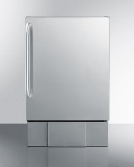 Model: BIM24OS | Summit Outdoor compact icemaker