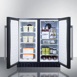 Model: FFRF3070B | Summit Full frost-free operation in both the refrigerator and freezer