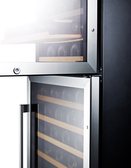 Model: SWC1875B | Dual zone design to store red and white wine under the right conditions