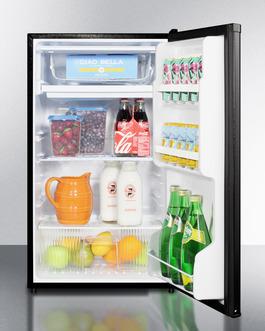 "Model: FF433ESADA | Summit 19"" Wide Refrigerator-Freezer, ADA Compliant"