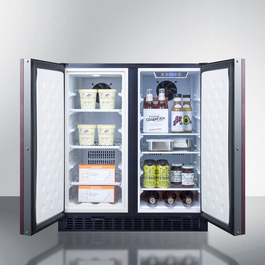 Model: FFRF3070BIF | Summit Full frost-free operation in both the refrigerator and freezer