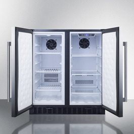 Model: FFRF3070BSS | Summit Full frost-free operation in both the refrigerator and freezer