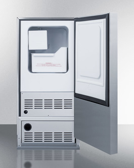 Model: BIM25H34 | No drain required for more flexibility in placing the icemaker
