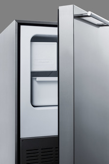 No drain required for more flexibility in placing the icemaker