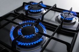Model: GC527SS | Summit 5 sealed burners to maximize cooking capacity with less counter space
