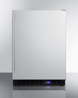 "Summit 24"" Wide Outdoor All-Freezer With Icemaker"