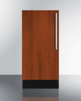 Summit Panel-ready door lets you customize your icemaker to blend into your own cabinetry design