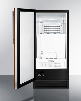 Model: BIM44GIF | Summit Panel-ready door lets you customize your icemaker to blend into your own cabinetry design
