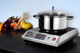 Includes a complimentary 7-piece set of induction cookware with purchase