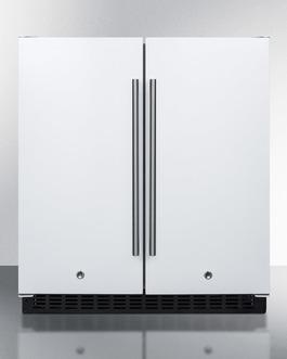 """Summit 30"""" Wide Built-In Refrigerator-Freezer"""