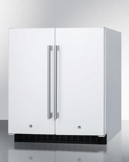 "Model: FFRF3075W | Summit 30"" Wide Built-In Refrigerator-Freezer"