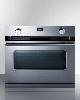 Summit Gas wall oven