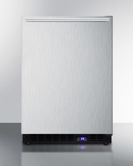 """Summit 24"""" Wide Built-In All-Freezer With Icemaker"""