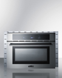 "Model: CMV24 | Summit Combines a microwave, convection oven, and grill in one elegant 24"" fit"
