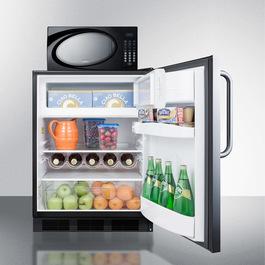 Model: MRF663BSSTB   Summit Microwave/Refrigerator-Freezer Combination