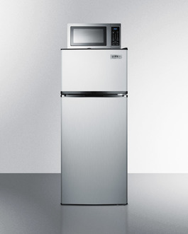 Model: MRF1159SS | Summit Microwave/Refrigerator-Freezer Combination
