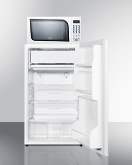 Model: MRF412ES | Summit Microwave/Refrigerator-Freezer Combination