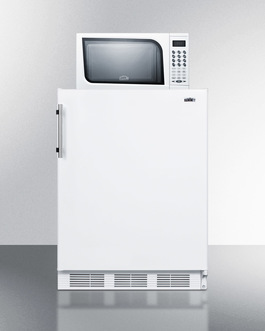 Model: MRF661 | Summit Microwave/Refrigerator-Freezer Combination