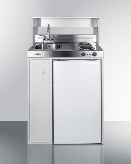 "Model: C30EL | Summit 30"" Wide All-In-One Kitchenette"