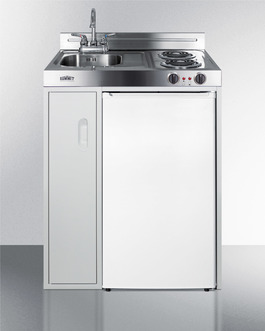 Model: C30ELAUTO | Refrigerator-freezer features automatic defrost operation for low maintenance use