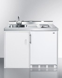 "Model: C48ELGLASS | Summit Complete kitchen convenience in just 48"" of width"