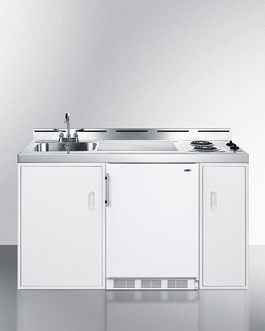"Model: C60EL | Summit Complete kitchen convenience in just 60"" of width"