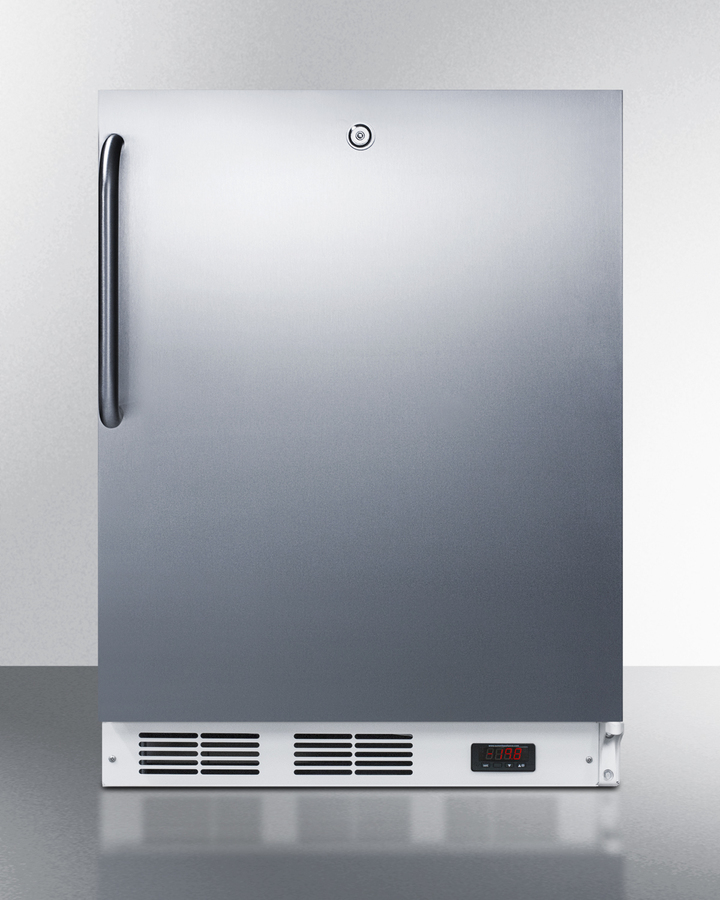 "Summit 24"" Wide Built-In All-Freezer, ADA Compliant"