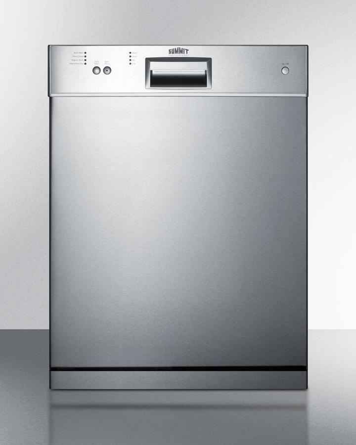 24' wide ADA compliant dishwasher with stainless steel door