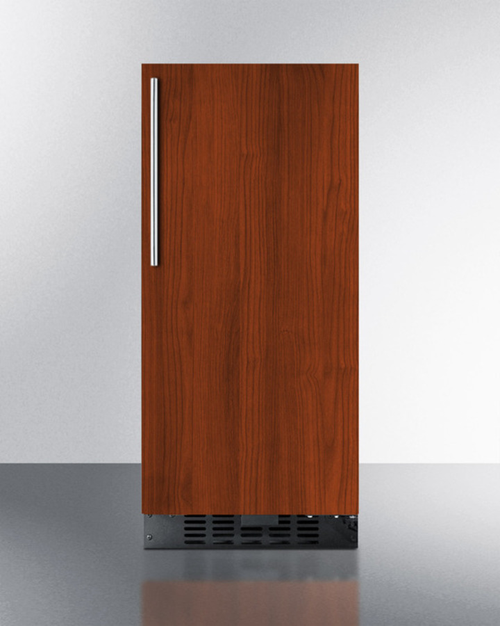 15' wide all-refrigerator for built-in or freestanding use with integrated frame for overlay panels; replaces FF1538BIF