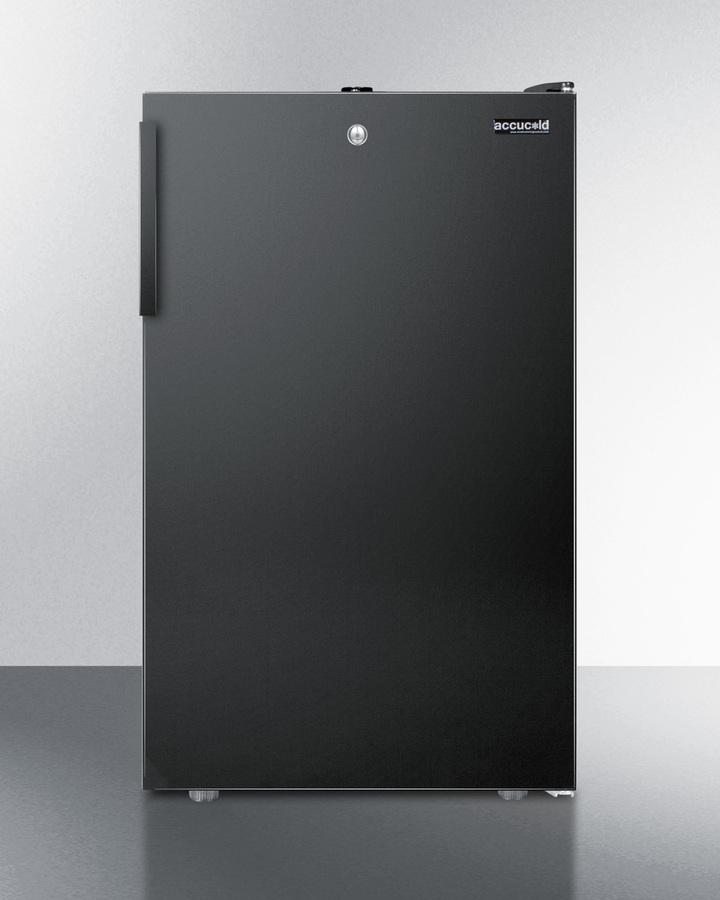 "Summit 20"" Wide Built-In All-Refrigerator, ADA Compliant"