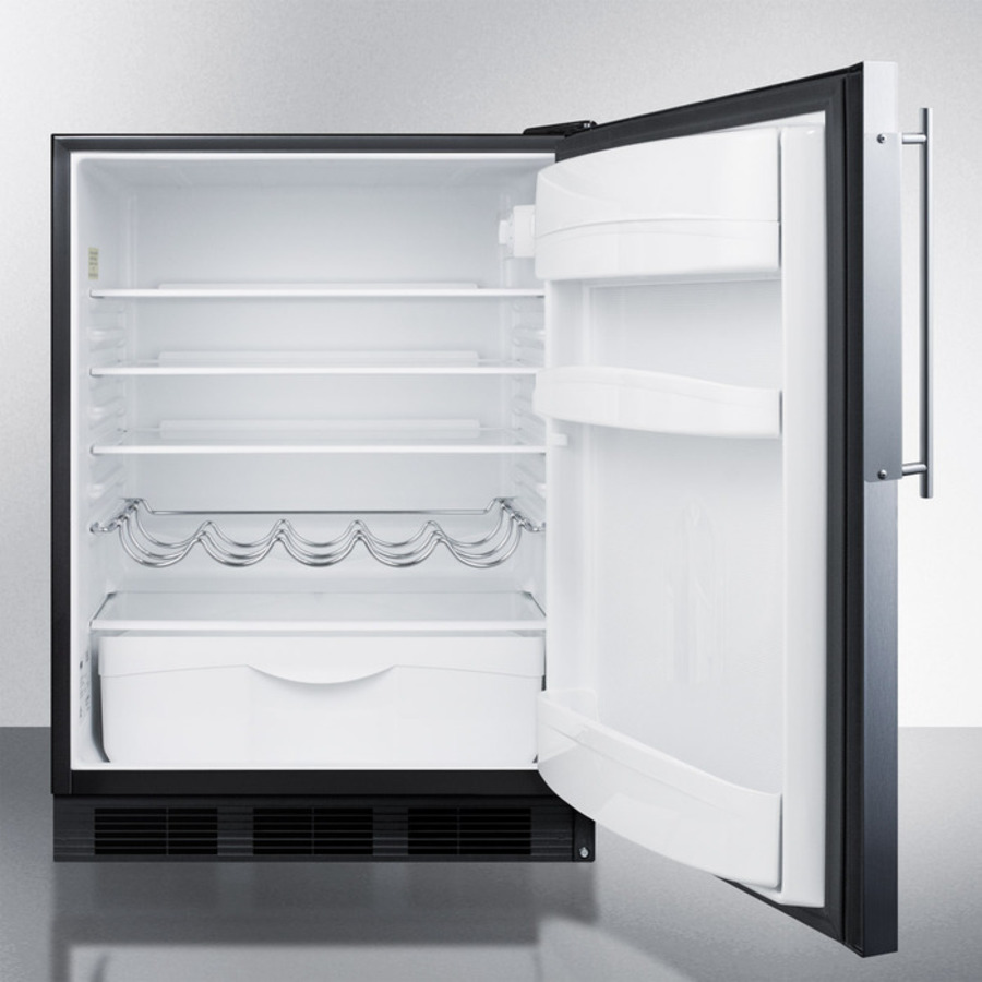 Summit - FF63BBIFR - Built-in undercounter all-refrigerator for ...
