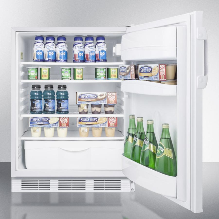 Summit Ff6lbiada Ada Compliant All Refrigerator For