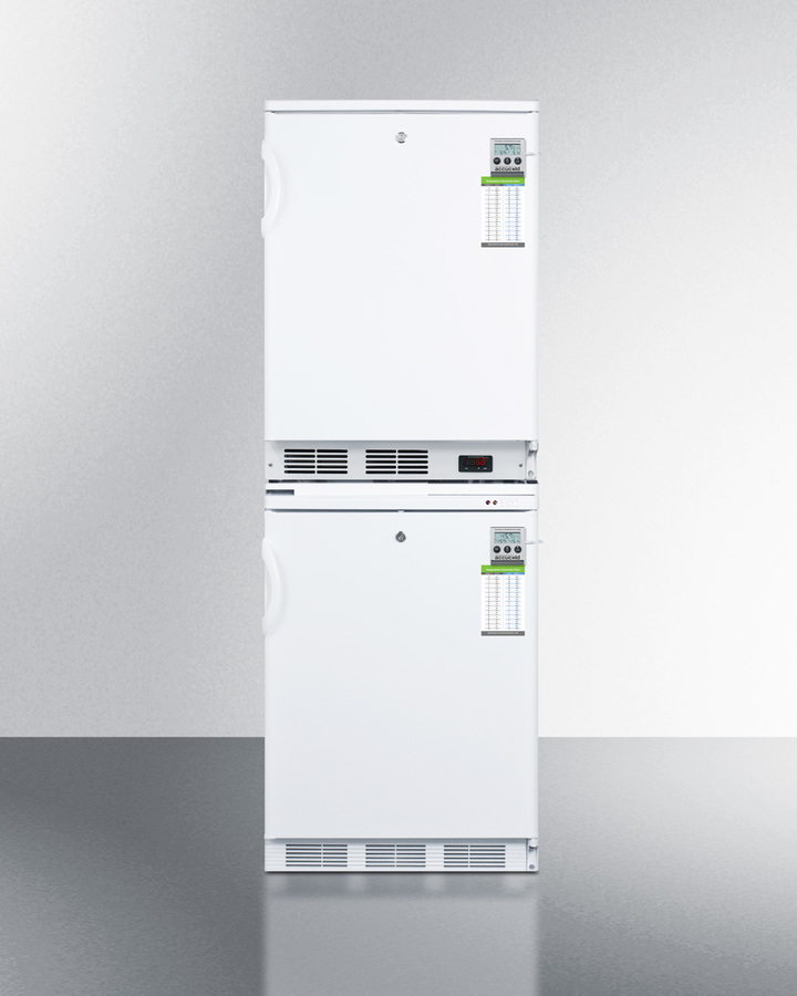 Summit Stackable refrigerator-freezer combination