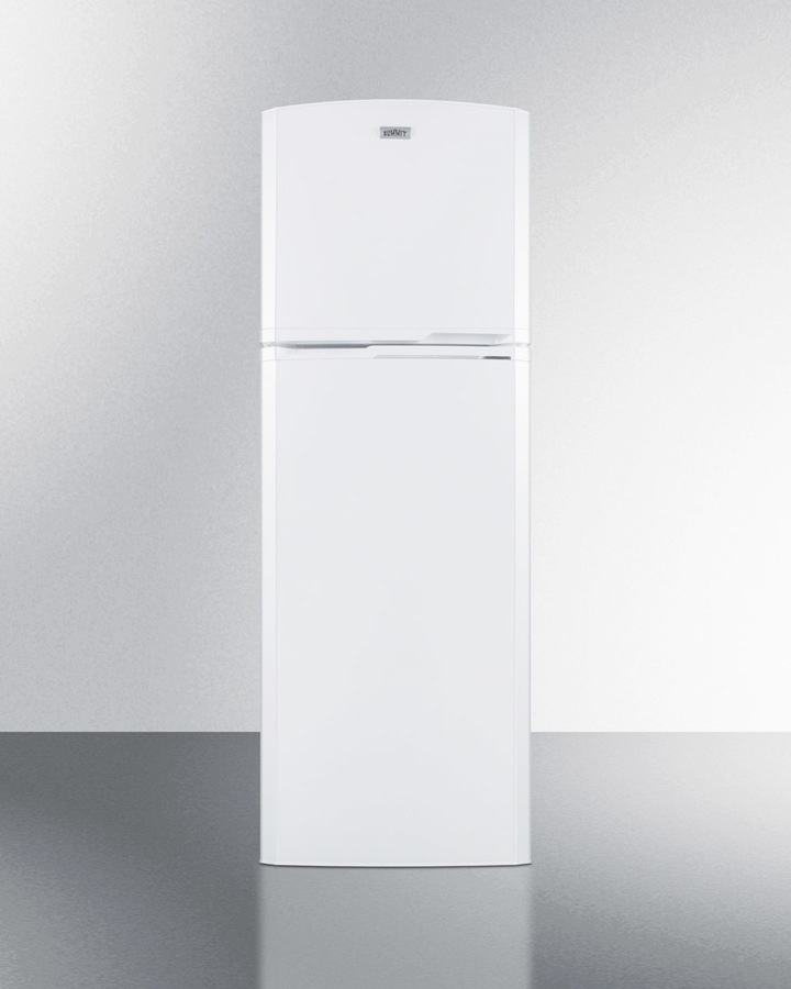Summit 8.8 cu.ft. frost-free refrigerator-freezer in white