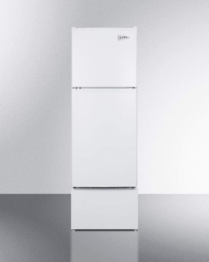 Summit Pedestal to raise height of select refrigerator-freezers for easier accessibility