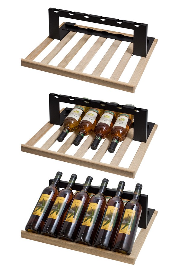 Summit Set of 2 shelves to display wine in SWC1775 or SWC1735C commercial wine cellars