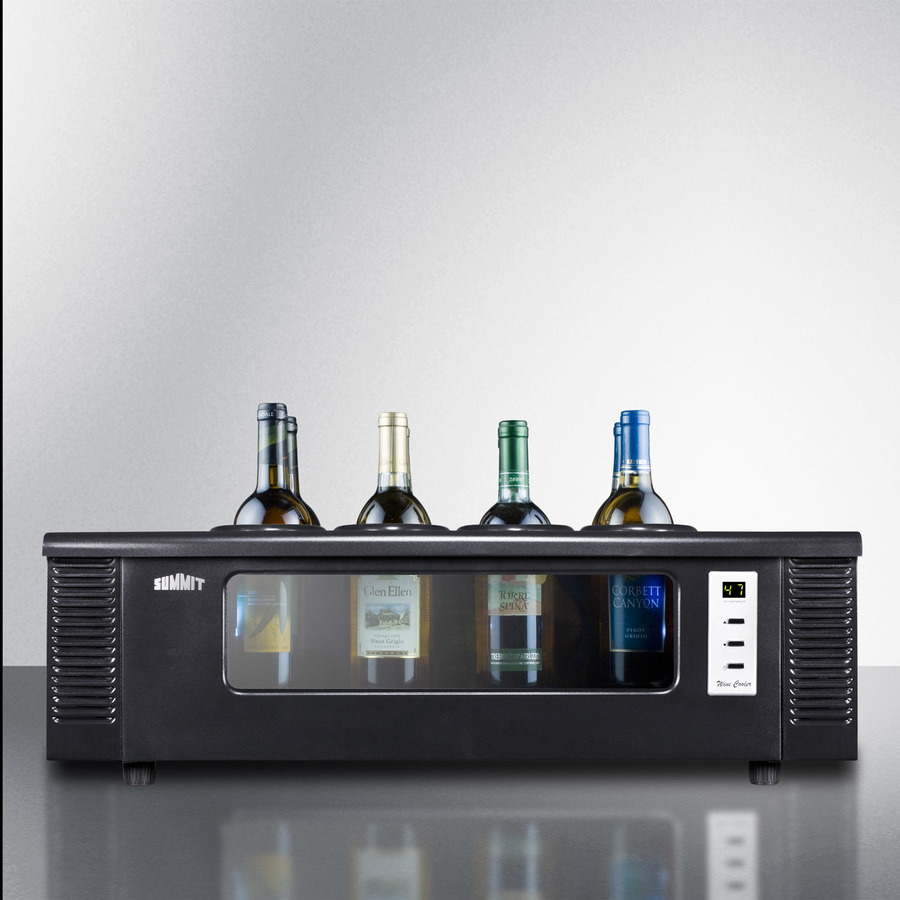 Summit - STC1 - 8-bottle thermoelectric wine chiller for countertop
