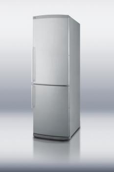 Counter depth ENERGY STAR listed bottom freezer refrigerator in slim 24