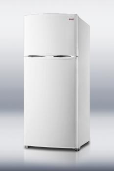 Two-door frost-free refrigerator-freezer with slim width