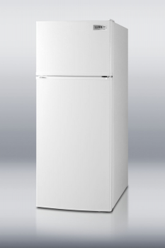 ENERGY STAR rated frost-free refrigerator-freezer in slim 24