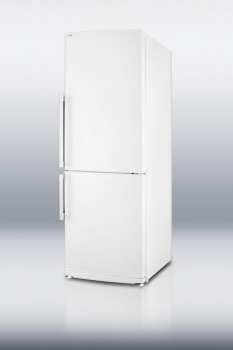 ENERGY STAR qualified full-sized refrigerator-freezer with bottom freezer and frost-free operation